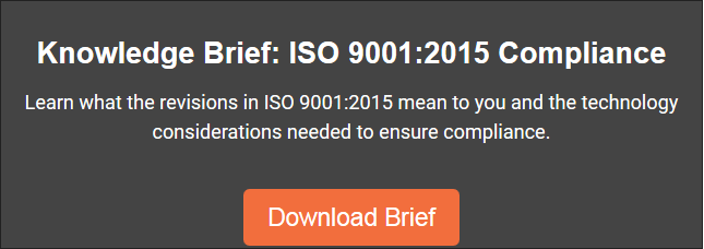 ISO 9001:2015's Effect on Quality Management Systems