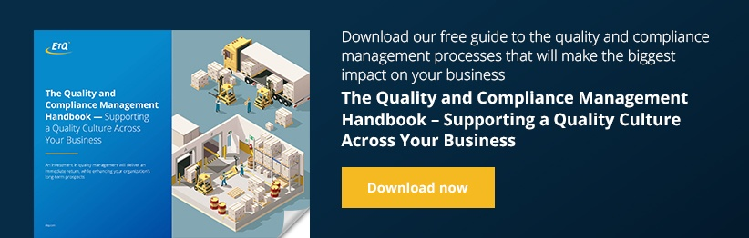The Quality and Compliance Management Handbook: Supporting a Quality Culture Across Your Business