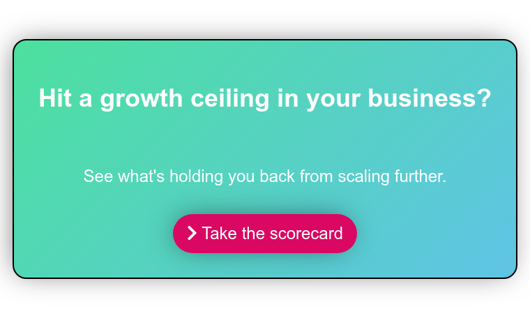 Want to get your foot in the door with more ideal customers?   Find out if being too difficult to buy from is holding you back    Take the scorecard