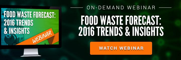 2016 Food Waste Trends Webinar