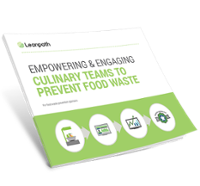 Empowering and engaging culinary teams to prevent food waste