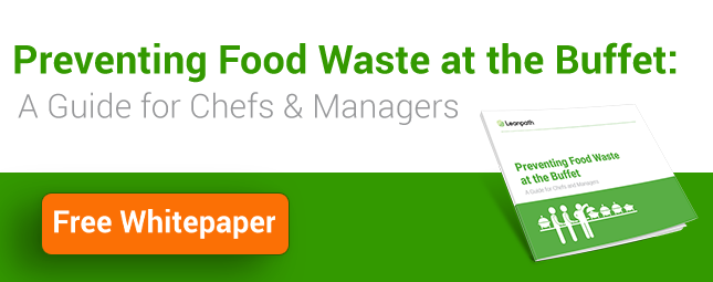 prevent food waste at the buffet