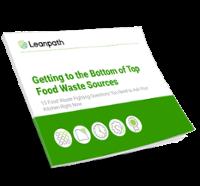 Top food waste sources whitepaper