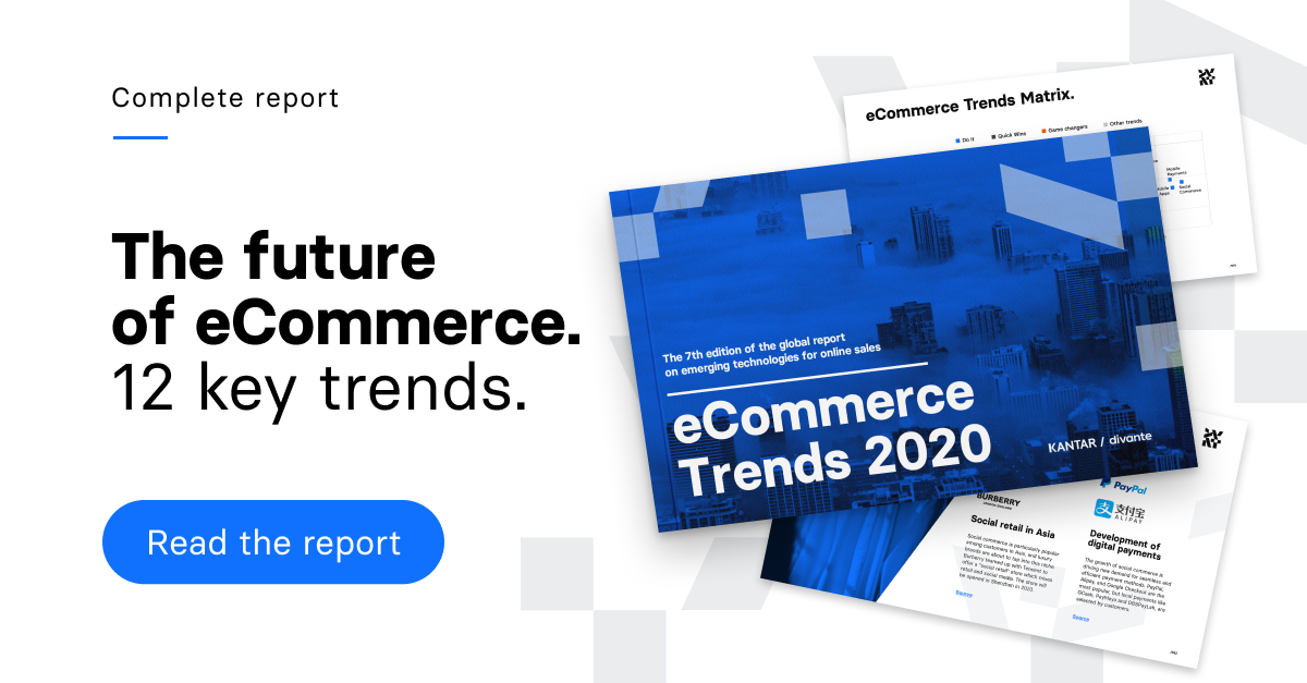 ECommerce Trends Study for 2019. Download now >