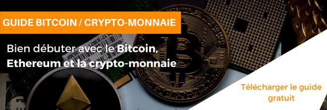 Débuter et investir dans le bitcoin, ethereum et la crypto-monnaie