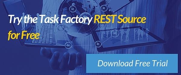 Task Factory REST Source Free Trial