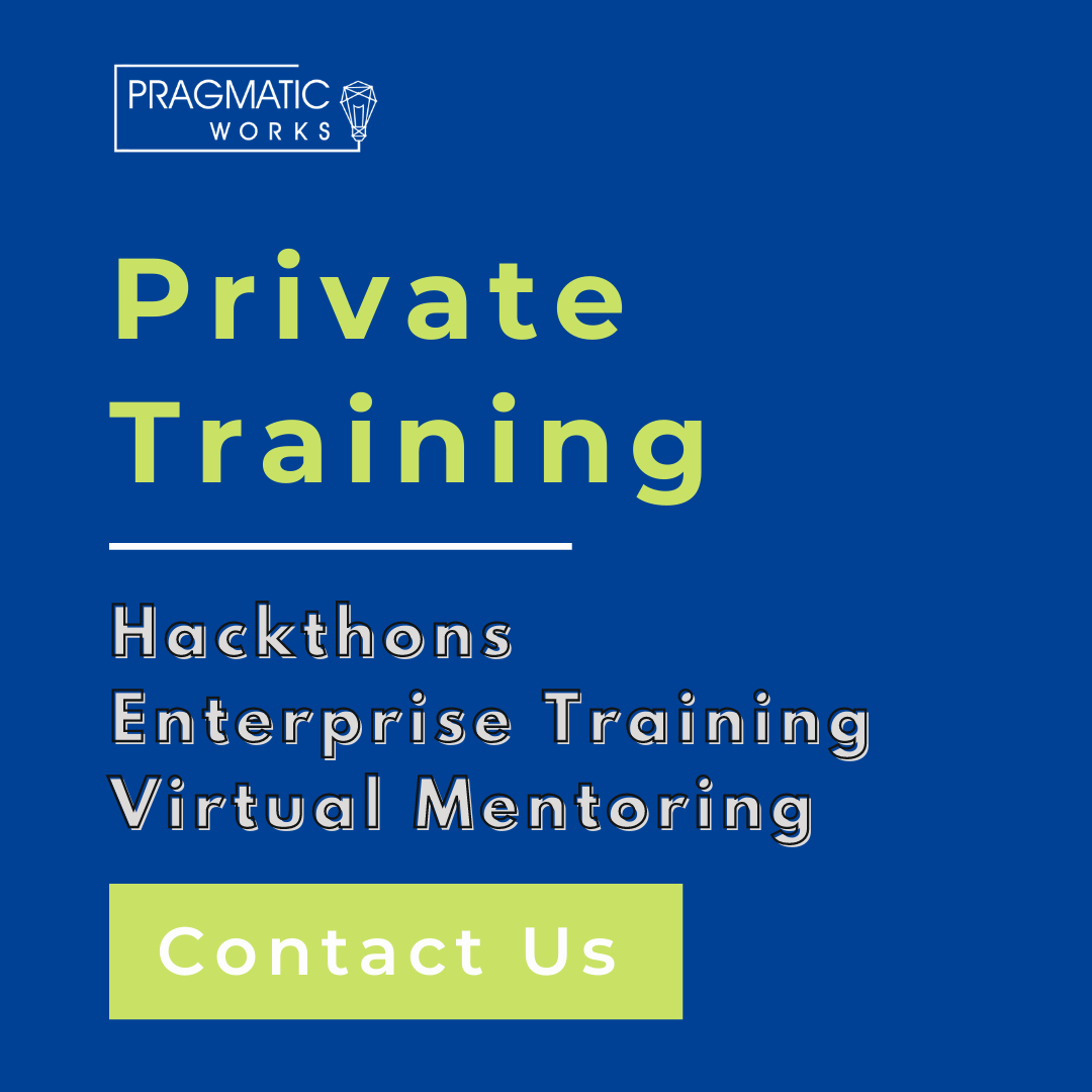 Private Training (Blog)