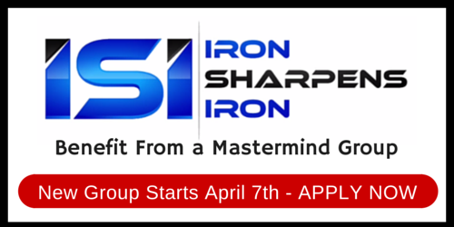 Experience an Iron Sharpens Iron Mastermind Group Christian business