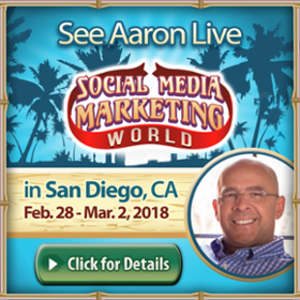 Aaron Walker in Social Media Marketing World 2018