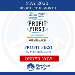 Profit First Mike Michalowicz Book of the Month ISI mastermind