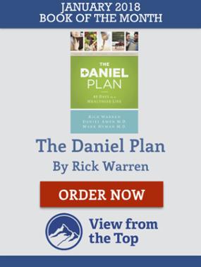 The Daniel Plan View from the Top Aaron Walker