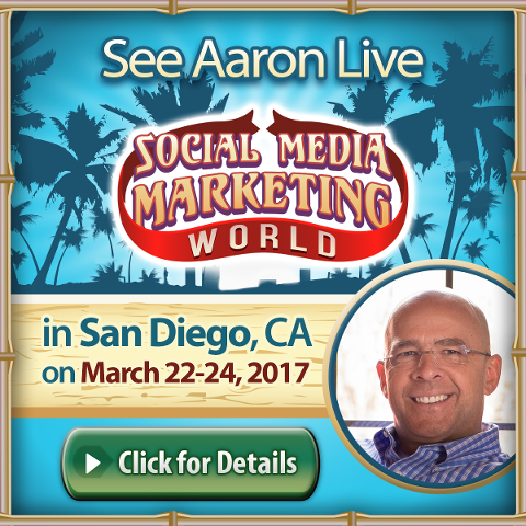 Aaron Walker in Social Media Marketing World 2017