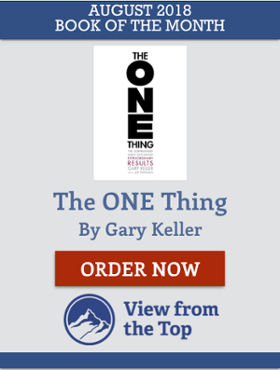 The One Thing by Gary Keller