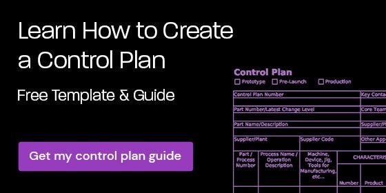 Download a free Control Plan template & guide