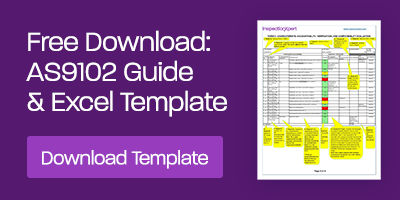 Free Download: AS9102 Guide & Excel Template