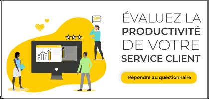 évaluez la productivité de votre service client - audit easiware