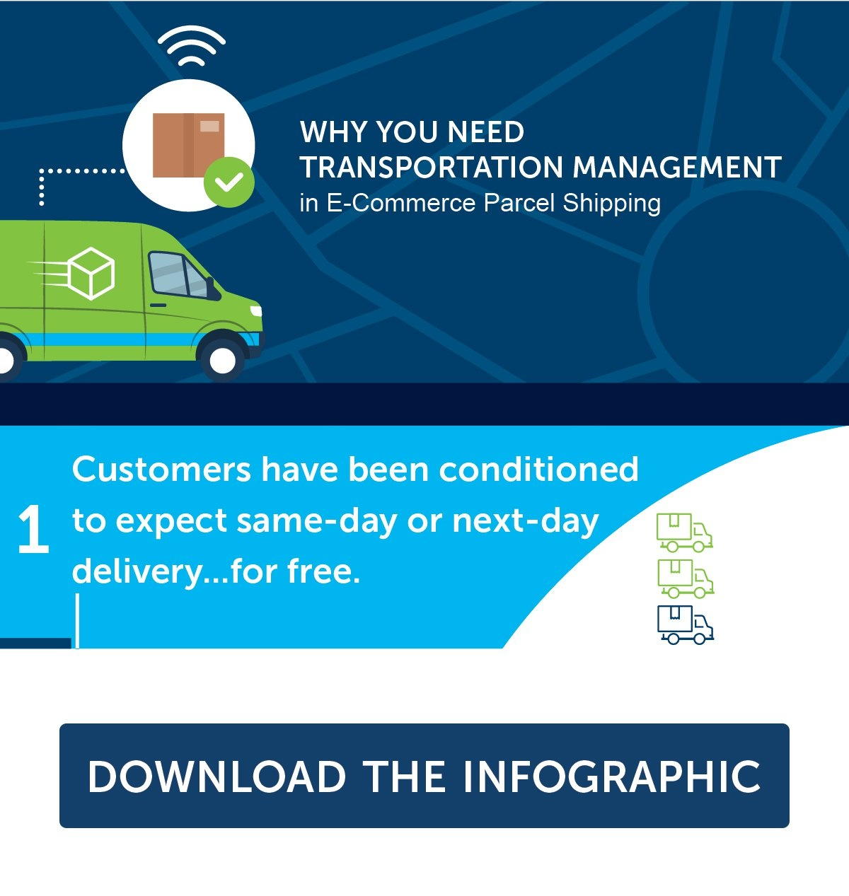 download the power of transportation management infographic