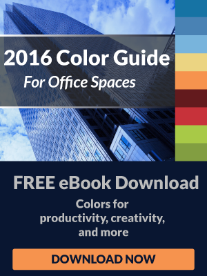 2016 Color Guide for Office Spaces Free eBook Download