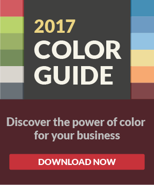 2017 Color Guide - Discover the power of color for your business - download now