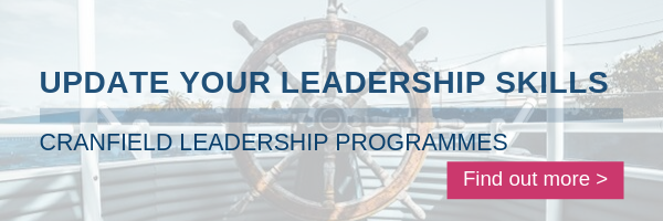 Find out more about leadership programmes at Cranfield