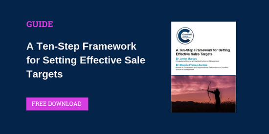 A Ten-Step Framework for Setting Effective Sales Targets Guide Dowload