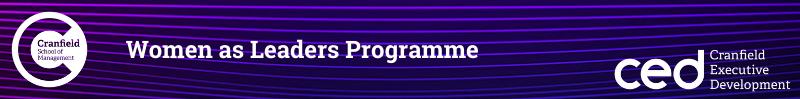 Women As Leaders Programme banner