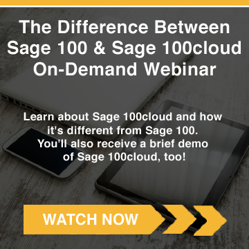 What's the Difference Between Sage 100 & Sage 100c?
