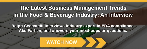 The Latest Business Management Trends in the Food & Beverage Industry