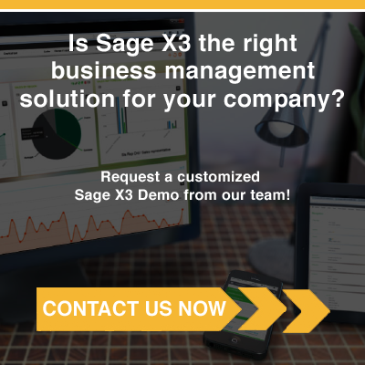 Sage X3 Demo