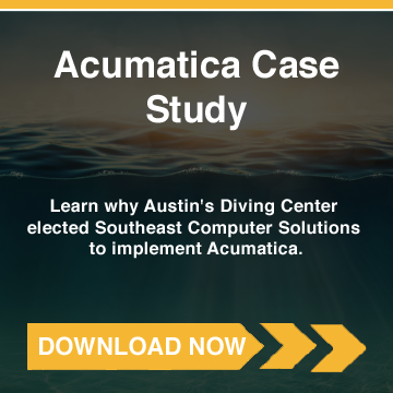 Austin's Diving Center (Acumatica) Case Study