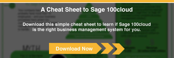 Sage 100c Cheat Sheet