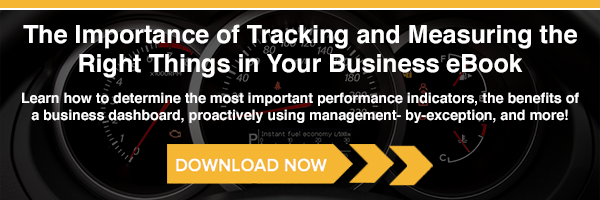 Measuring and Tracking the Right Things In Your Business eBook