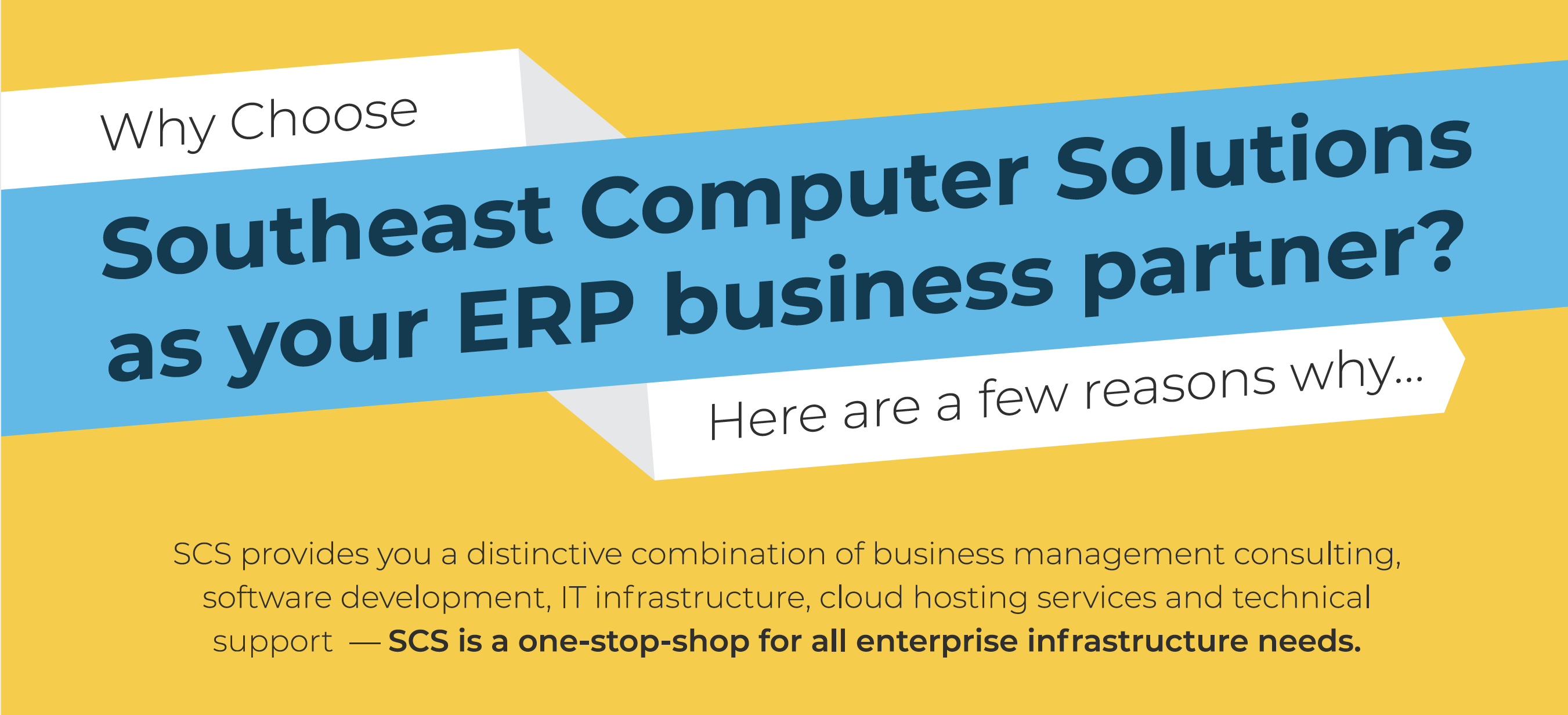 Why Choose Southeast Computer Solutions Infographic
