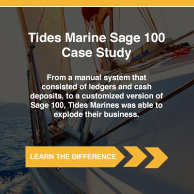 Tide Marine Sage 100 Case Study