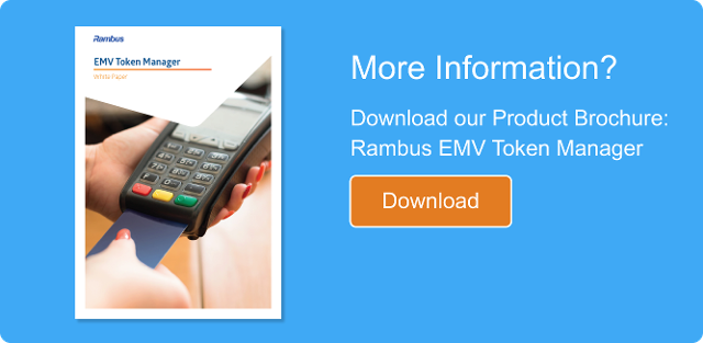 Rambus EMV Token Manager