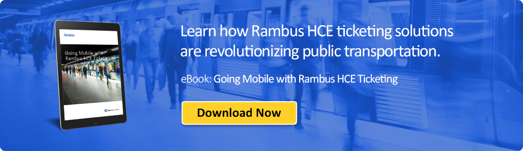 Download 'Going Mobile with Rambus HCE Ticketing'