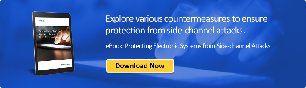 Protecting Electronic Systems from Side-Channel Attacks