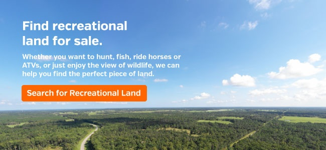 Looking to Buy Recreational Land?
