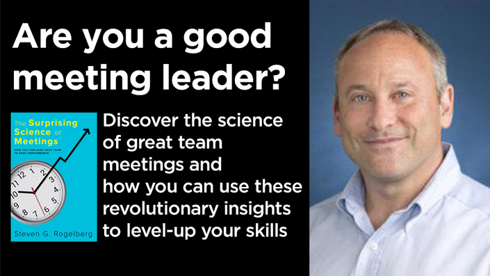 Are You a Good Meeting Leader? Enroll Today