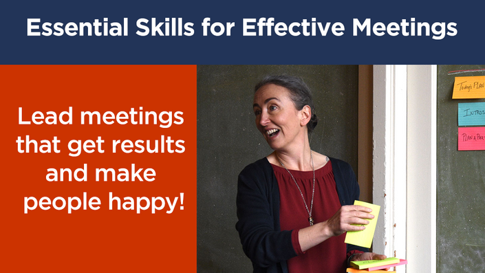 Gain the Essential Skills for Effective Meetings