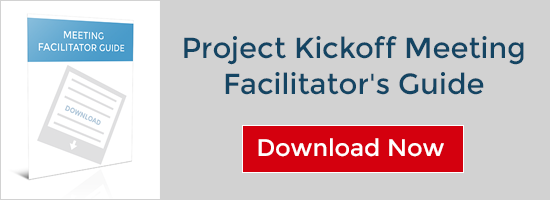 Download: Project Kickoff Meeting Facilitator's Guide