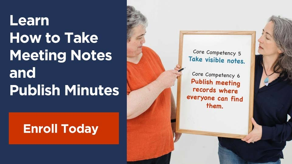 Learn How to Take Meeting Notes and Publish Minutes: Enroll Today