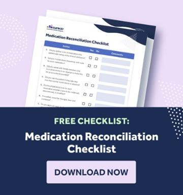 Medication Reconciliation Checklist