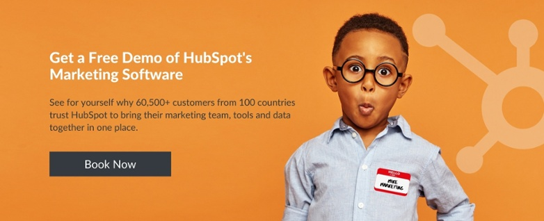 Get a free demo of HubSpot's Marketing Software