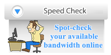 Check your Bandwidth Speed