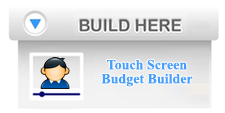 Budget Tool for Touch Screens