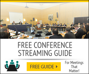 Conference Streaming Guide