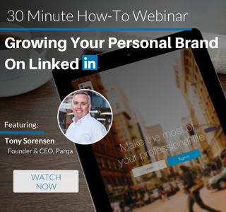 Growing Your Personal Brand on LinkedIn Webinar Recording