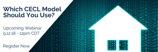 Which CECL Model Should You Use? Upcoming  Webinar - Register Now.