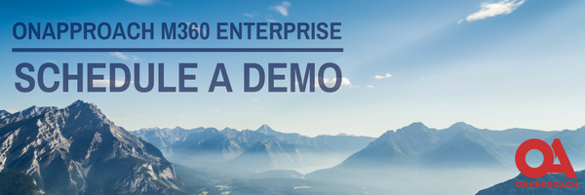 OnApproach M360 Enterprise, Schedule a Demo, Revolutionize your Credit Union Analytics